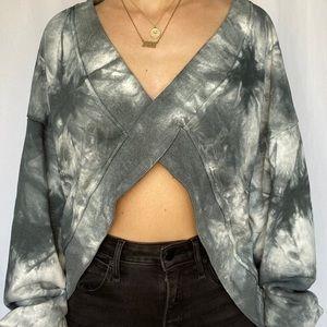 Reversible Tie Dye Sweatshirt